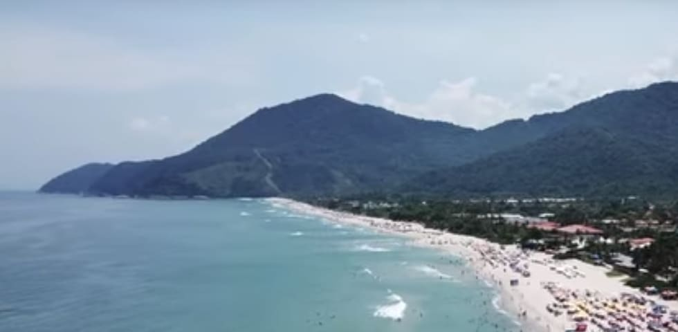 Taking a vacation in Maresias