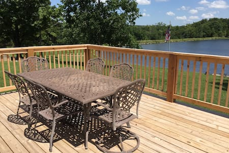 17 Acre Lake Retreat  - Cash Lodge