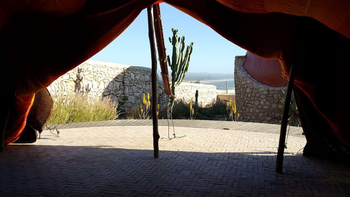 view from the tent view from the tent & Berber Tent *Dav Mahal* - Tents for Rent in Essaouira Marrakech ...