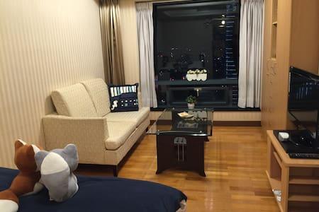 Taichung Great View Double room - 台中市 - Huoneisto