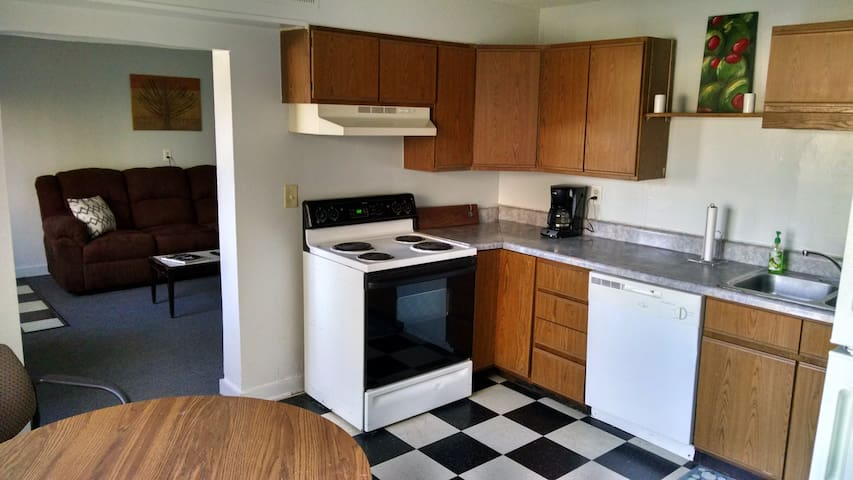 Two Bedroom Apartment in Five Points