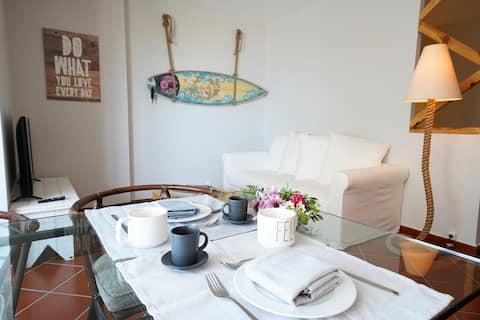Apartamento acolhedor na Costa da Caparica!