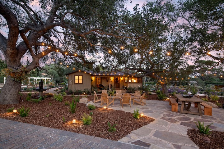 Storybook Montecito Cottage