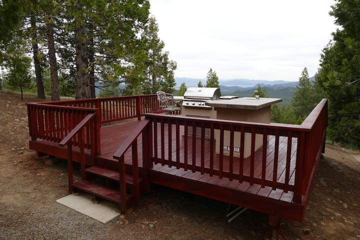 RV site Lake Davis: full bath,  kitchen, w/d