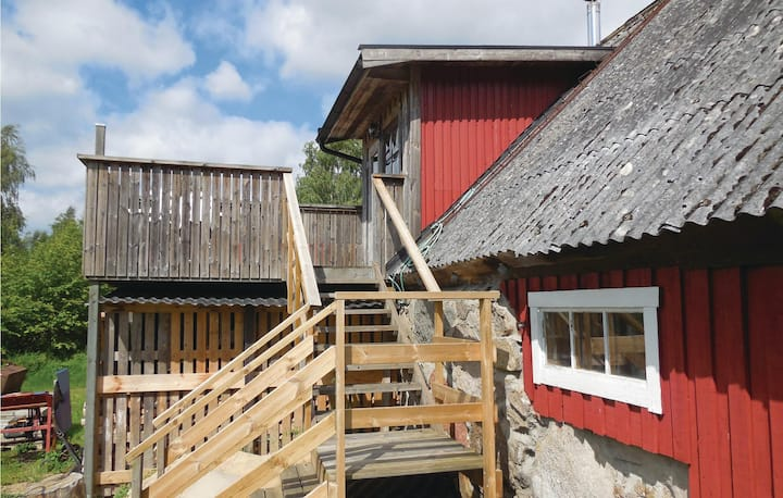 Stunning home in Fjälkinge with 1 Bedrooms