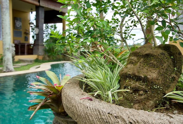 Cozy rice field room - wifi, pool, breakfast, GYM