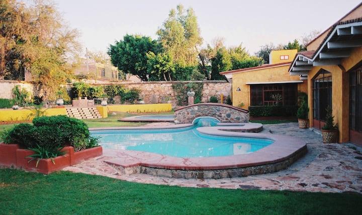 Casa en Tequisquiapan.Centro Habit#1 - 2 personas