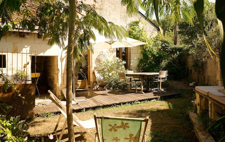 Gite de charme Sud Touraine - Crissay-sur-Manse - Hus