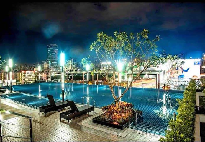 临近抖音火车夜市、big c、泰国文化中心,舒适的全新大单间公寓 中国房东