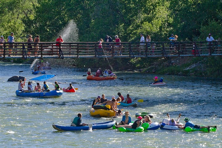 Only 25 min away - Animas River frolicking! Durango's award winning status is partly due to having a mountain and river culture making it a year around paradise.