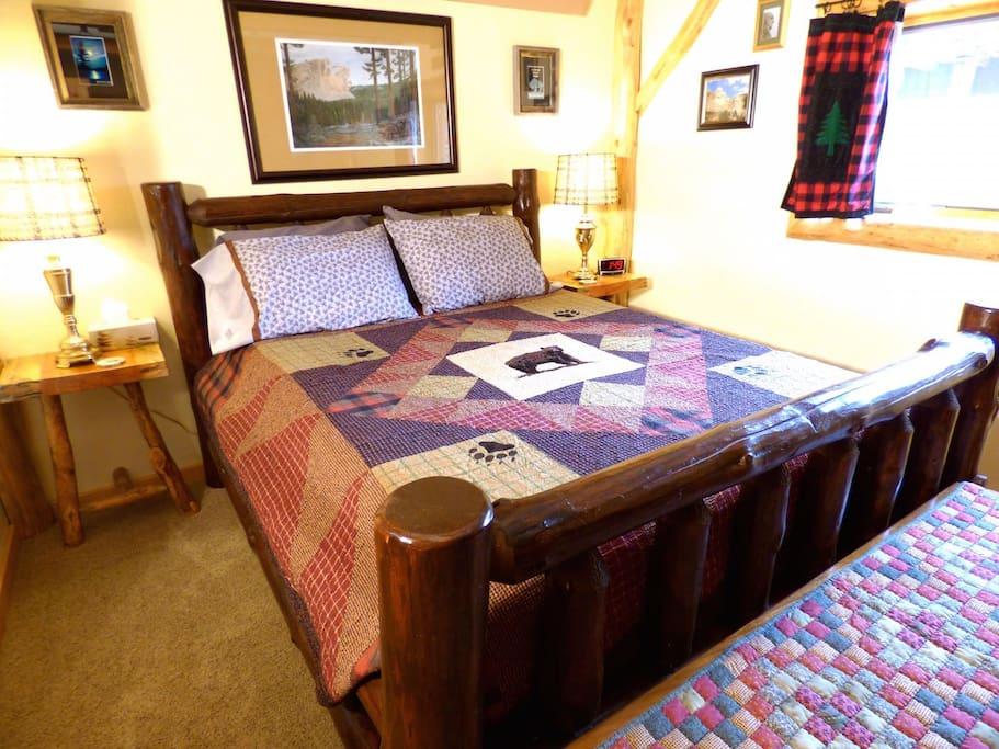 Black Hills guest room