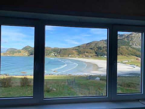 Hus til utleige ved Norges fineste strand, Refvik
