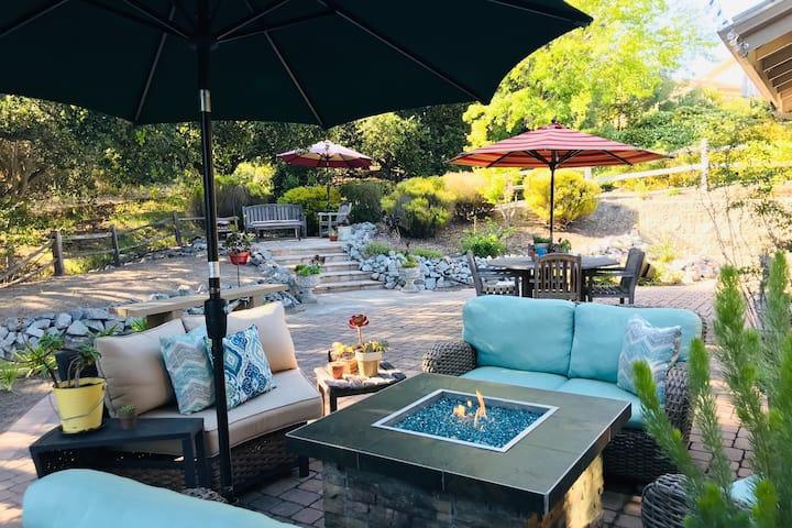 Arroyo Grande Home & Outdoor Patio (cozy fire pit)