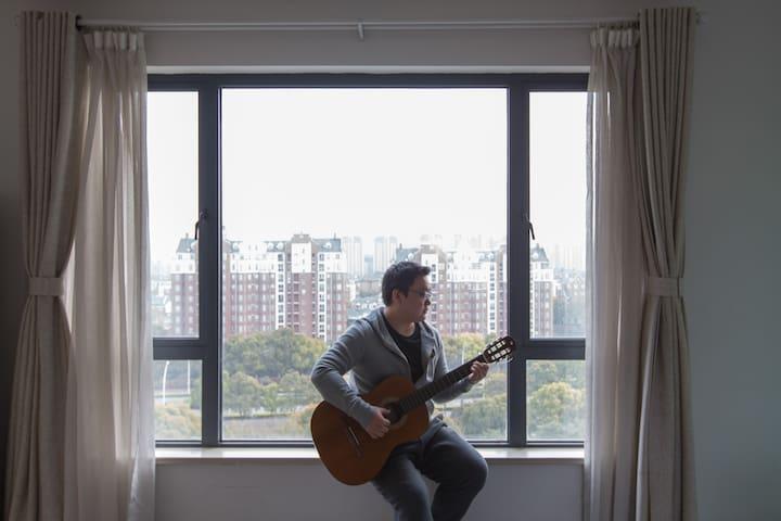 Modern Apart near Jinji Lake/Jiuguang/Eslite/Xieta - Suzhou - Apartment