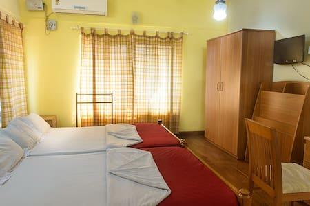 Olavum Theeravum (Two bedrooms,Rs 5000 each)