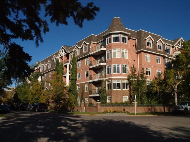 Room in gorgeous Erlton condo, right next to LRT!