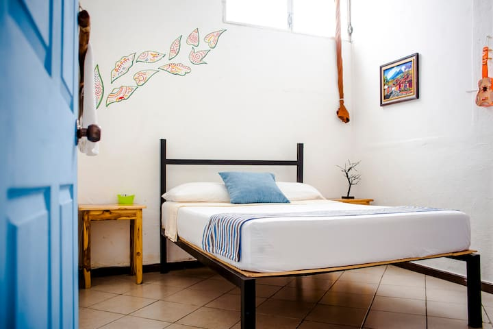Double room with fan, shared bath in FLORES ISLAND
