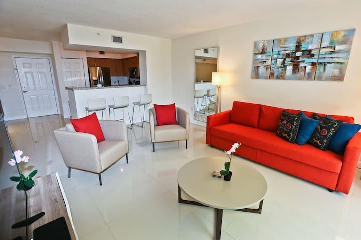 NUOVO | Modern 1 Bed/1Bath in Coral Gables/Miami