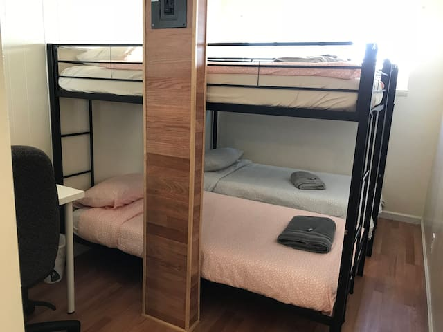 Mangrum 2B - Lower Bunkbed / Co-ed shared room