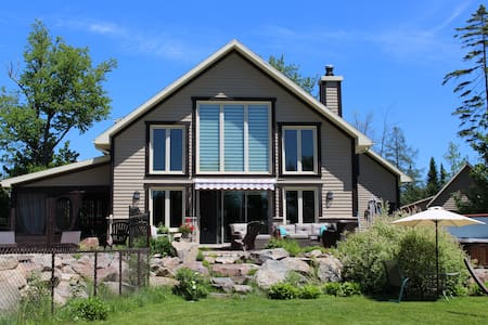 Maison champêtre/ contemporaine - Fossambault-sur-le-Lac