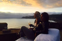 Ask Paul & Sue about this secret bar with amazing sunset views!
