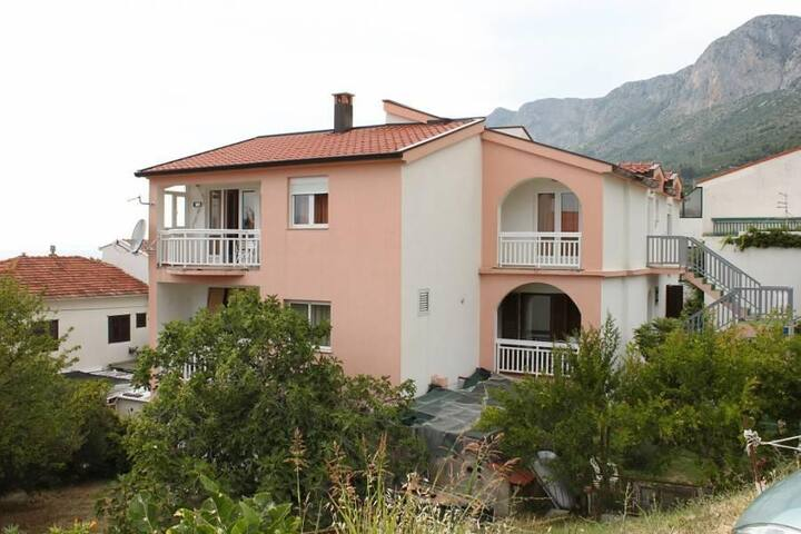 One bedroom apartment with terrace and sea view Gradac, Makarska (A-6820-a) - Gradac - Lägenhet