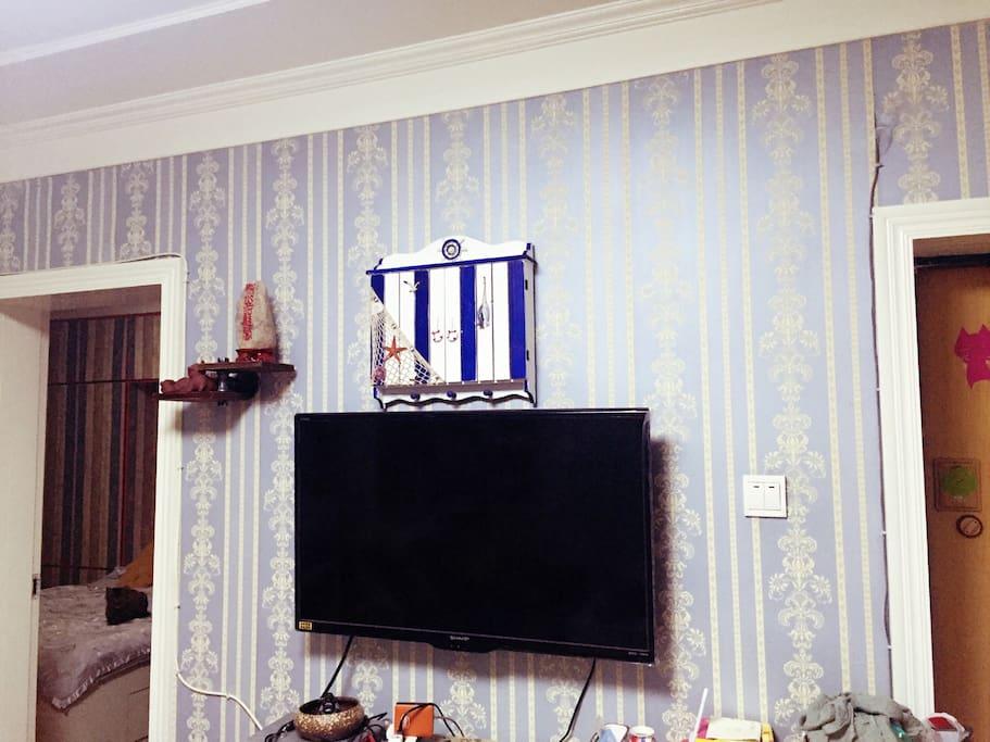 客厅有电视