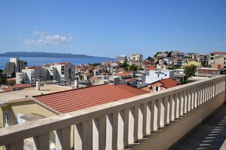 Big Common Terrace with Sea View