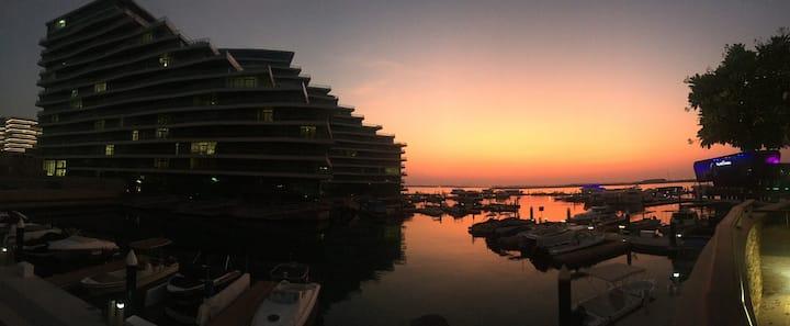 Marina sea view luxury apartment