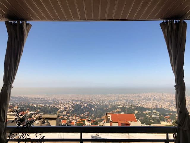 300m apartment in ain saadeh