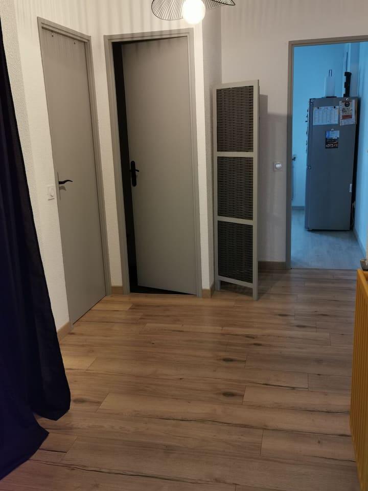 Bel appartement avec balcon vue Pyrénées