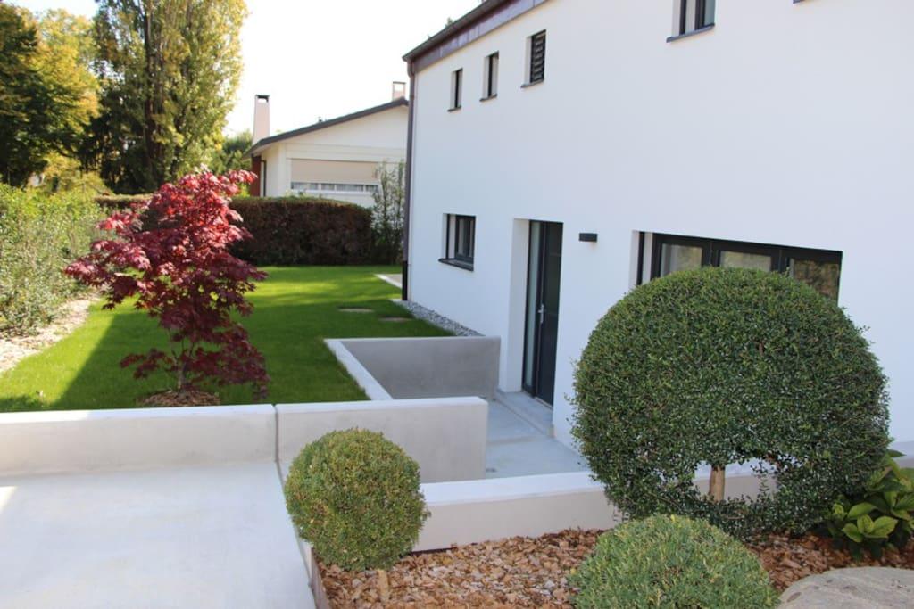 Superbe meubl avec terrasse appartements louer versoix gen ve suisse - Appartement meuble geneve ...