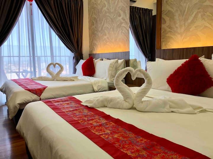 The Suite Silverscape, BandarMelaka, FREE WiFi 4px