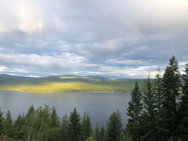 Amazing view of North Shuswap Lake!
