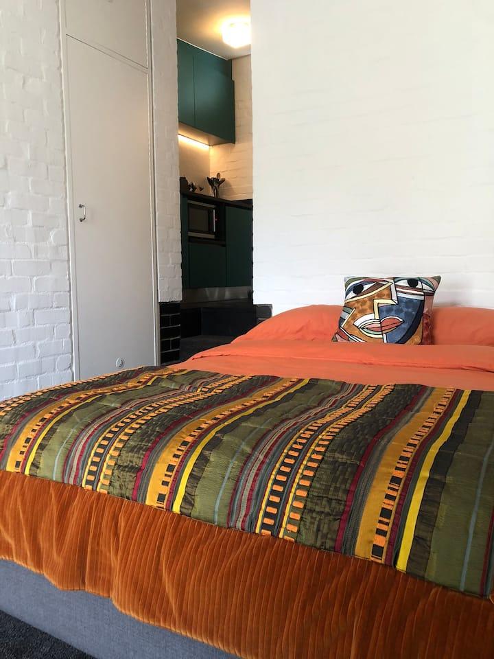 Mid Century Modern Guest Suite