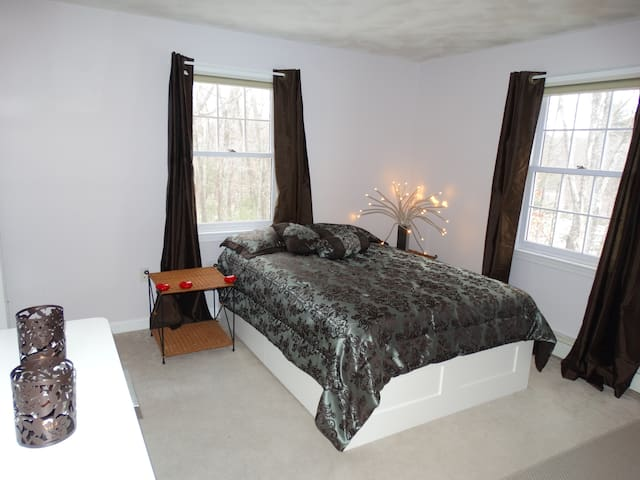 Lovely room next to Nashoba Valley Ski Area - Westford