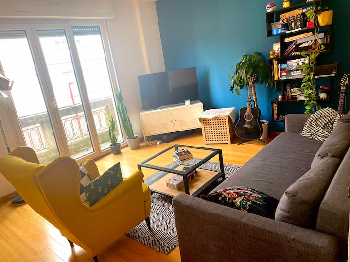 Grand appartement 77m2 proche centre de Strasbourg