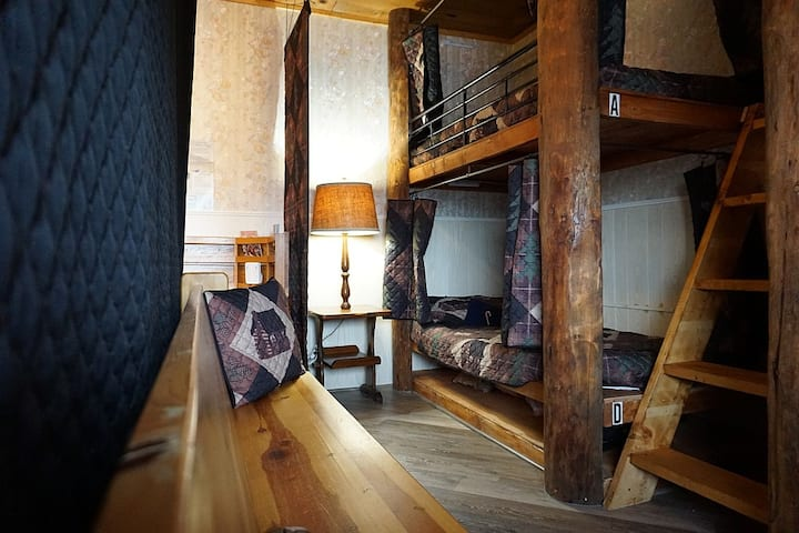 Alaskan Stoves Hostel: Common Area Bunk-A