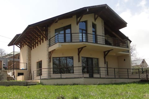 Three level modern cottage near Tbilisi with view