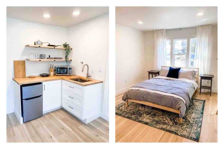★ Stylish and Quiet Studio | 1 bed, 1 bath