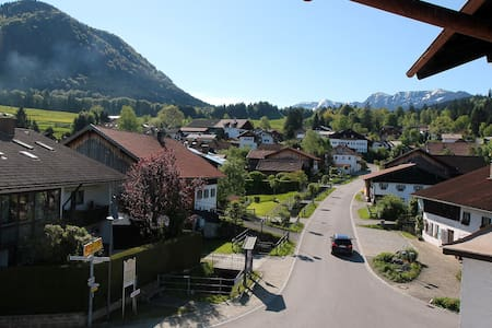 Modern holiday apartment with mountain view - Halblech - Appartement