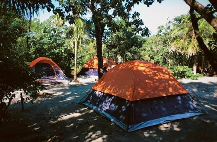 Balam eco camping : Hermosa tienda de campaña