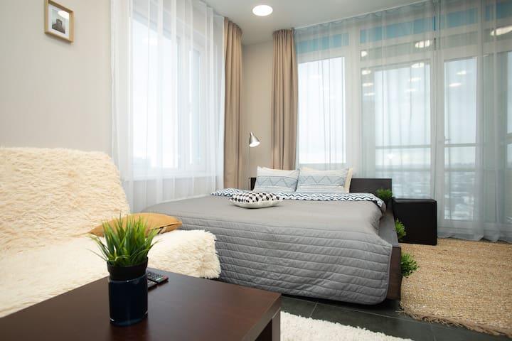 Панарамный вид 22 этаж самый Центр Екатеринбурга