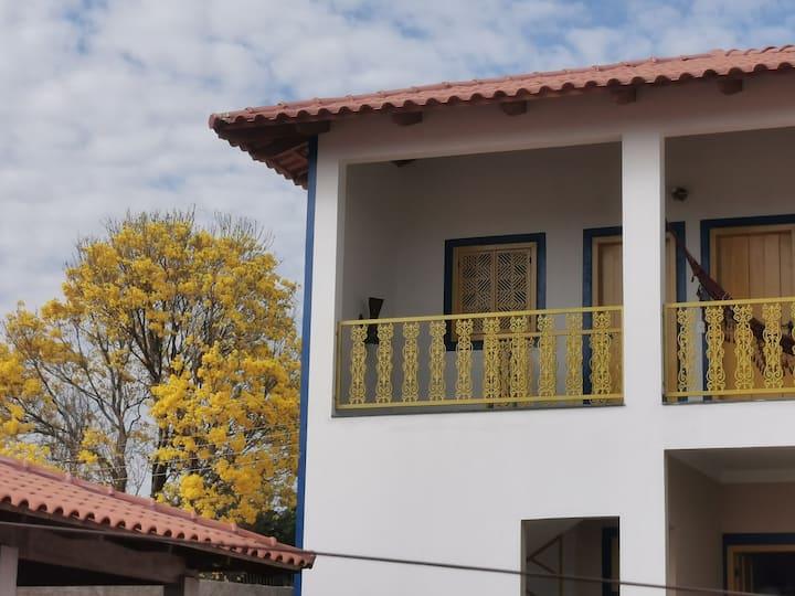 Pirenópolis - Casa Dom Pedro - Suíte Capricho