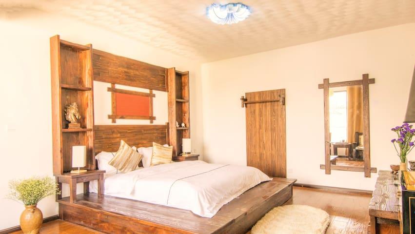 65平超大空间,舒适别致,大床房/双床房一晚 - Dali - Wohnung