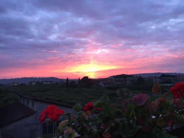 Camera pvt vicino aeroporto VR - Villafranca di Verona - Casa
