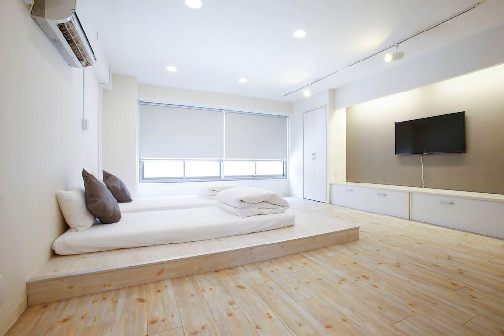 Sleeping beds