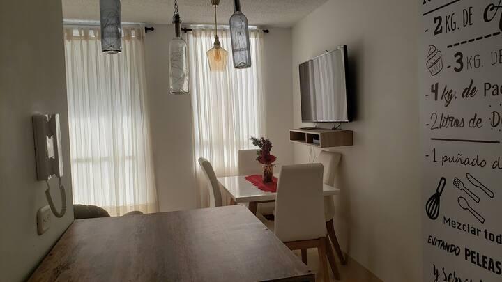 Habitación para descansar o estadía por trabajo