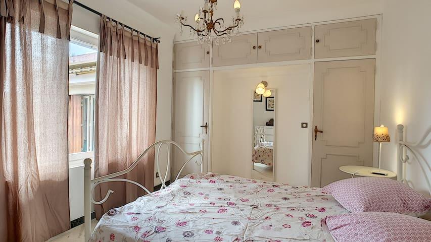 Chambre 1 double niveau terrasse