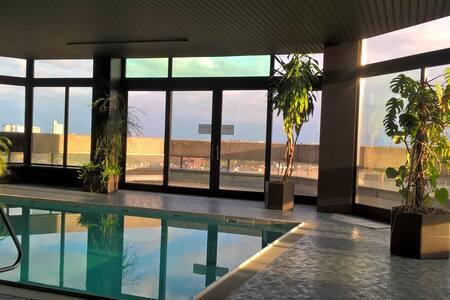 ruhiges, sonnige Wohnung(3) mit Schwimmbad & Sauna - 慕尼黑 - 公寓